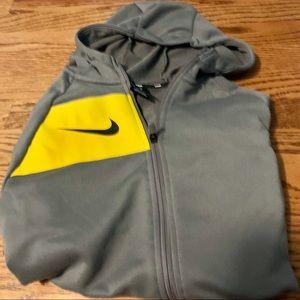Nike boys size xl grey dry fit